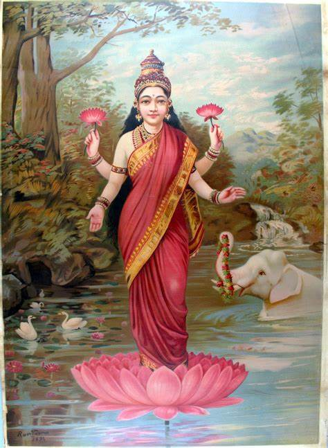 Lakshmi - Goddess Of Wealth - Sree Lagna