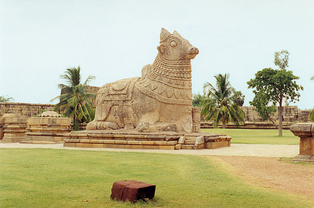 Nandi Sculpture
