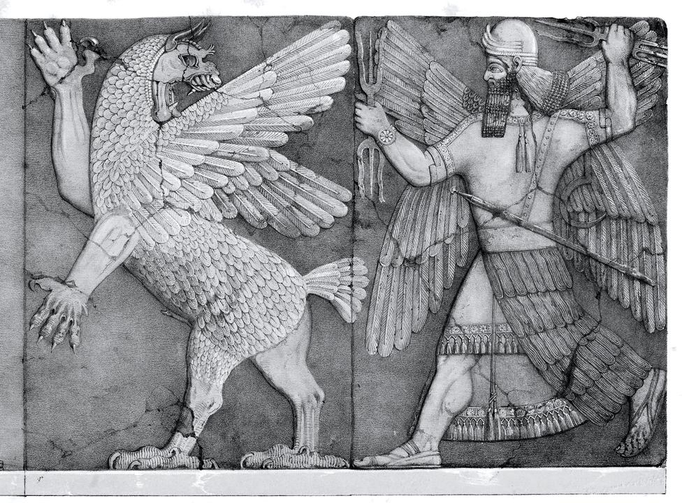 Mesopotamian Sun God