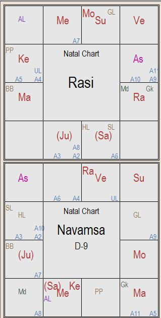 Navamsa Birth Chart