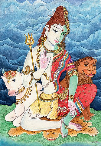 Ardhanarisvara is half-man on one side while being half woman on the other