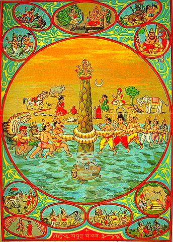 Samudra Manthan - Churning Of The Ocean