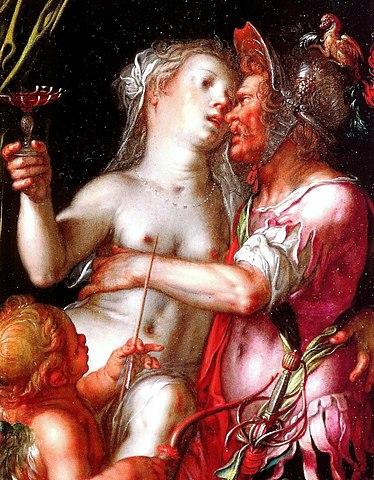 Painting Of Venus And Mars - Partnership Based On Desire