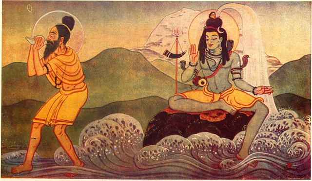 Bhagiratha bringing Ganges Down To Earth