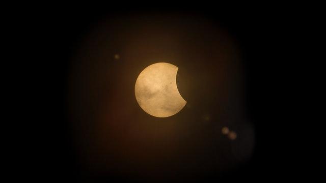 Eclipse - Mythologically Caused By Rahu Or Ketu