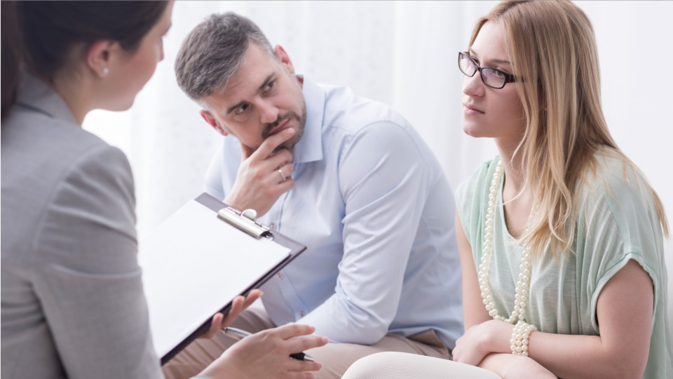 A Couple In Marriage Counselling