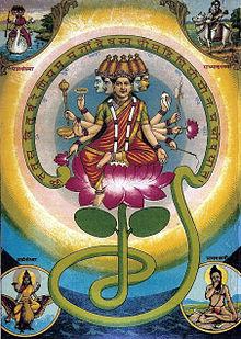 Gayatri Mantra As A Goddess