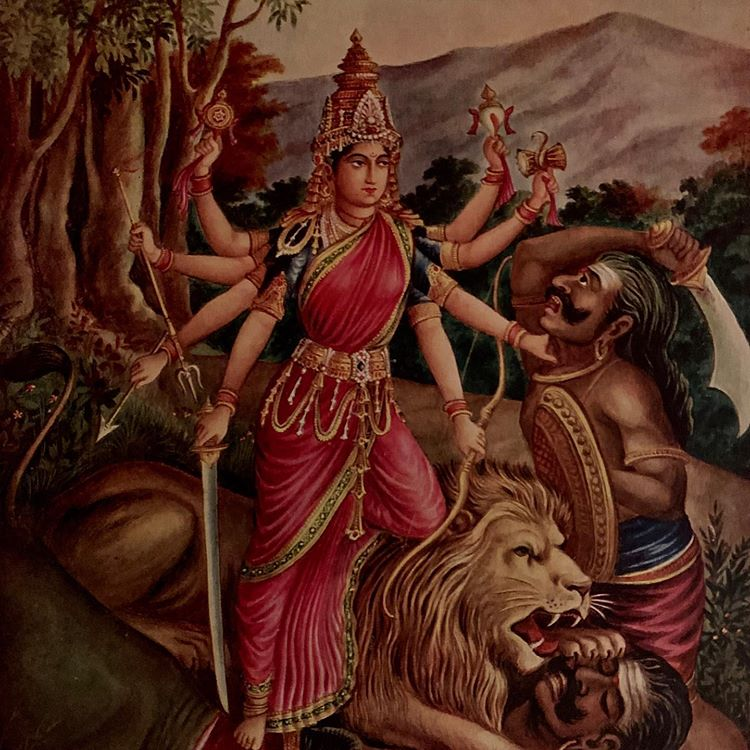 The Slaying Of Mahishasur