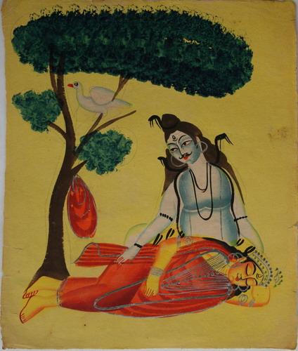 Shiva And Sati
