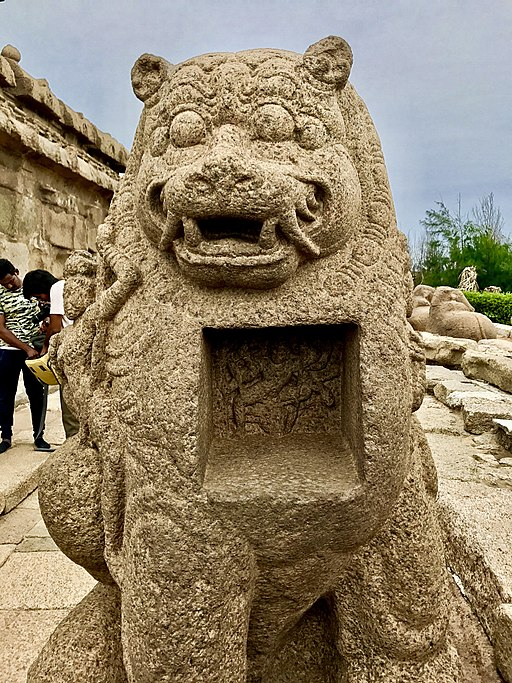Devi's Lion Sculpture