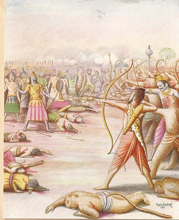 Lakshman Kills Indrajit