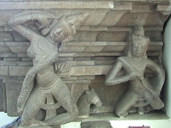 Sculpture Of  A Dancing Apsara