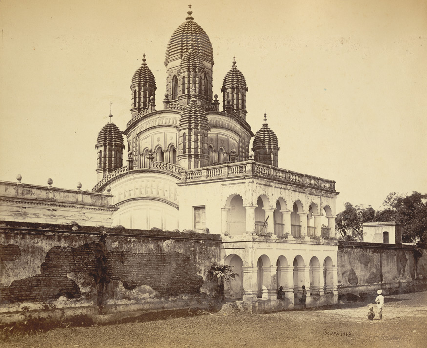 Old Picture Of The Temple