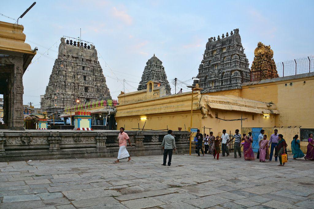 The Temple Gopurams