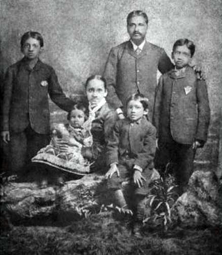 Aurobindo Ghosh's Family In England