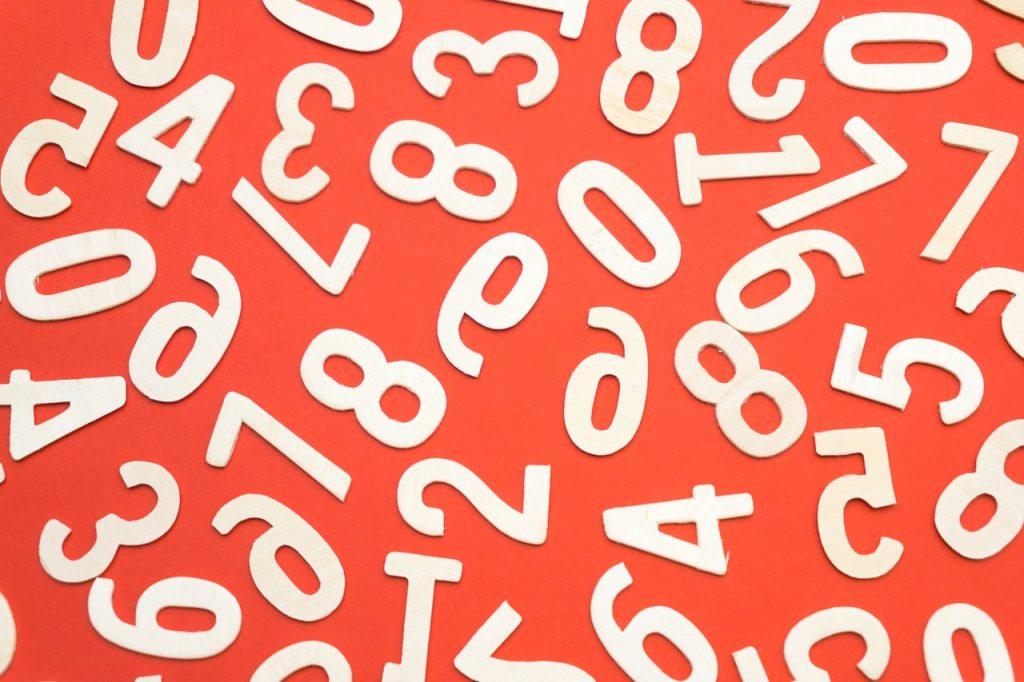 KP Astrology Horary Numbers