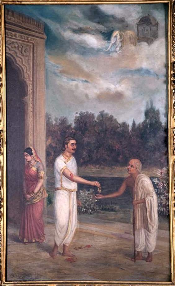 Magha Generosity: Karna Giving Away His Kavach