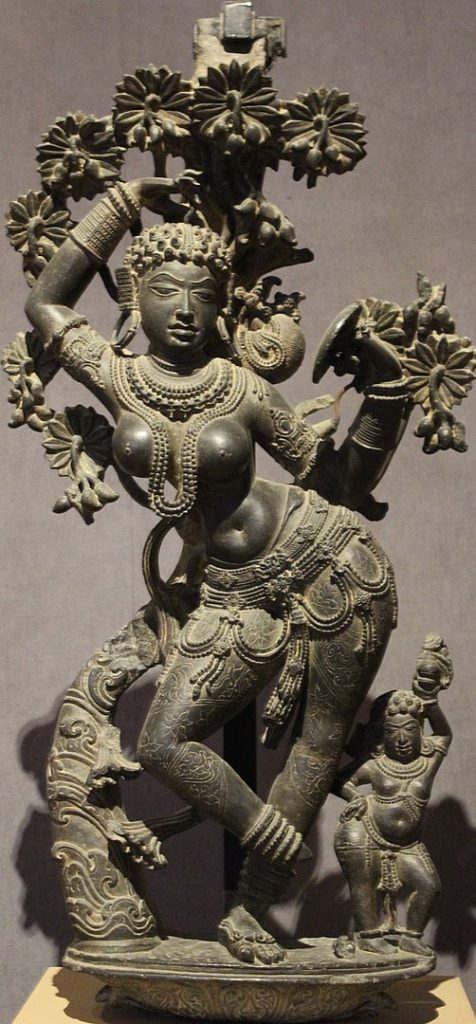Carving Of Mohini - Shani Mahatmya