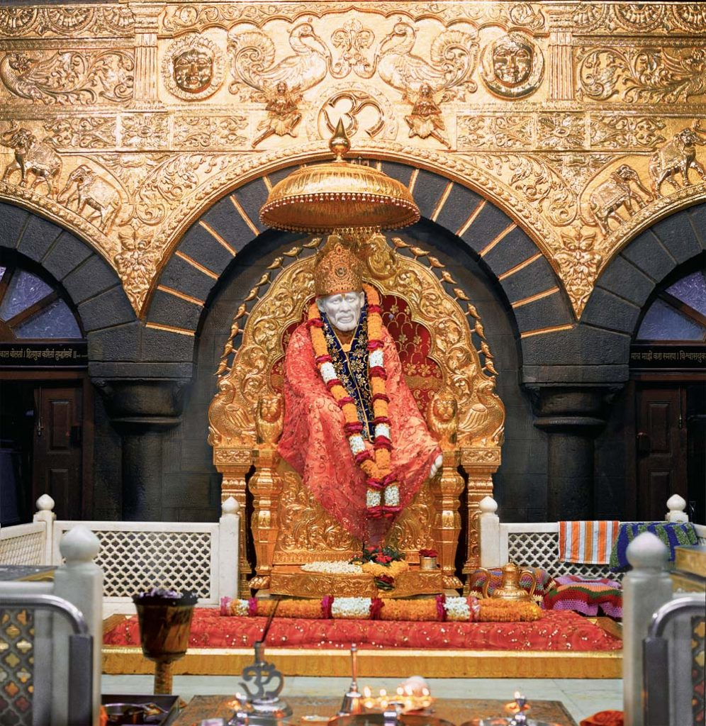 Temple of Sai Baba at Shirdi