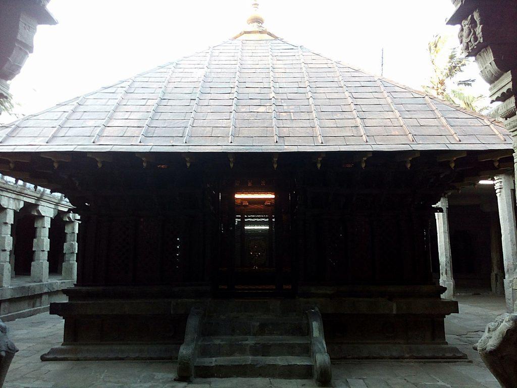 The Tamira Sabhai At Nellaiappar Temple