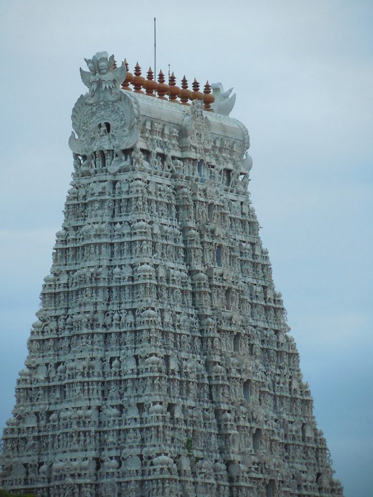 The Beautiful Tiruchendur Murugan Temple Gopuram
