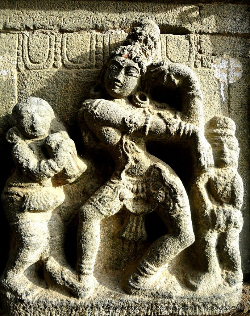 Figure Of A Dancer In Nataraja Temple Chidambaram