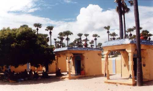 Samadhis Of The Tirupanni Swamis  Who Renovated Thiruchendur Murugan Temple