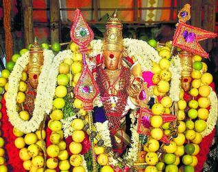 Thiruchendur Murugan Temple Car Deities