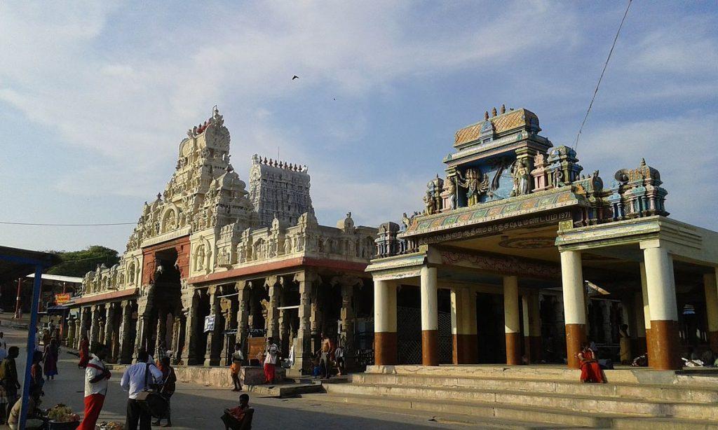 Exterior Of The Thiruchendur Murugan Temple