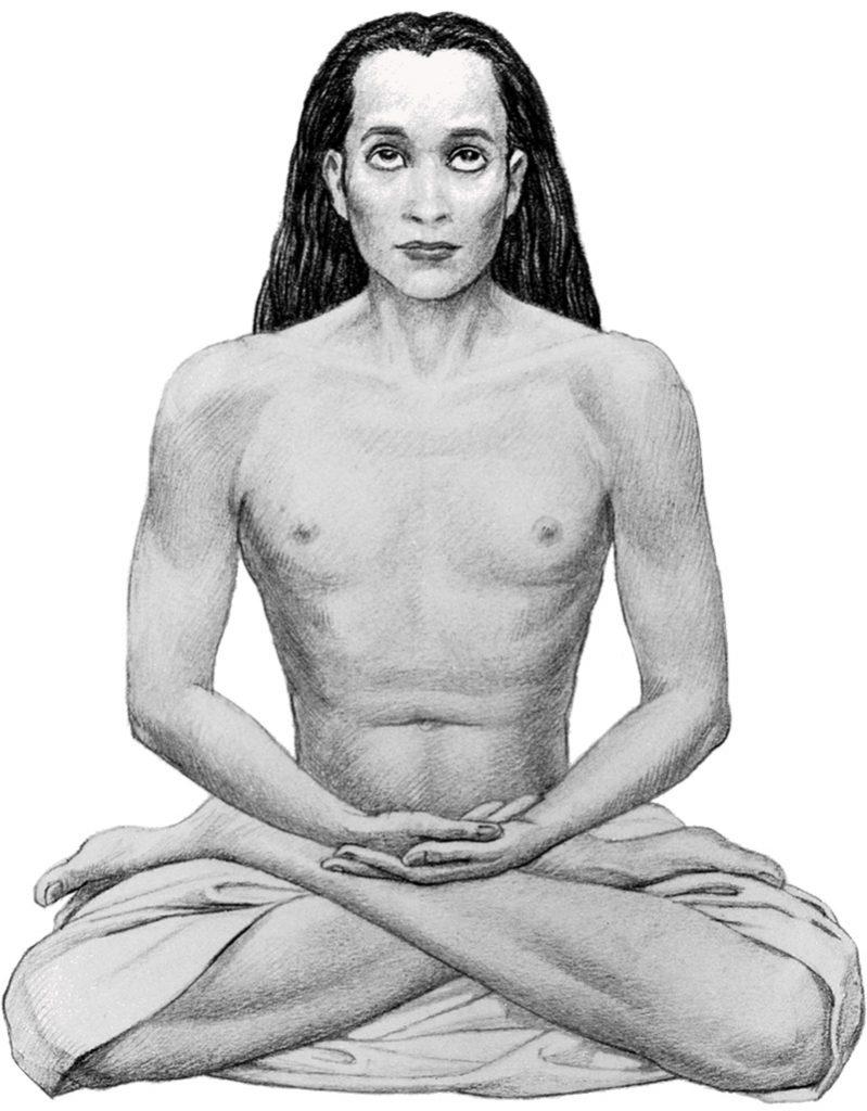 Artist's Rendering Of Mahavatar Babaji Photo: Art Commissioned By Yogananda