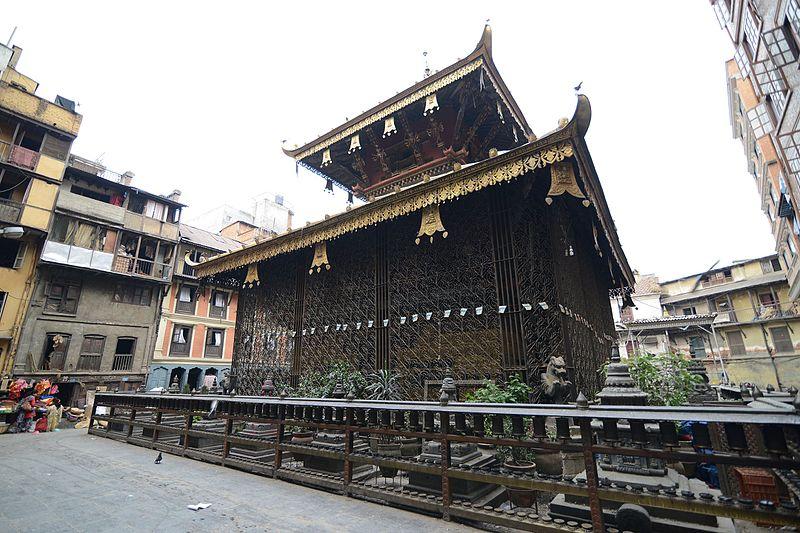 A Matsyendranath Temple In Nepal