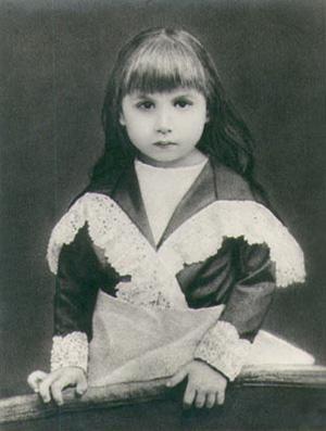 Mira Alfassa As A Child