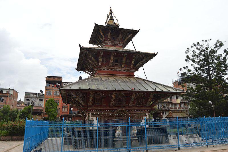 The Rato Machhindranath Temple In Patan