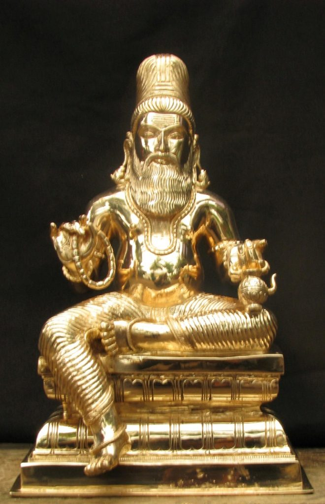 Statue Of Siddha Agastya