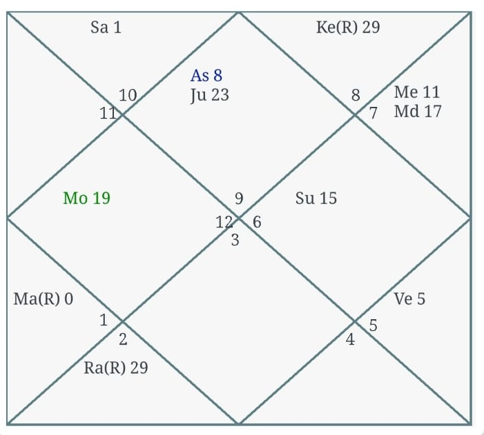 Astrology Chart Formats: North Indian Chart