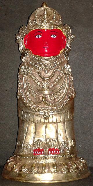 Statue Of Bunga Dyah